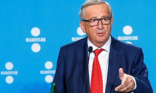 """Ein Freund des Europaparlaments"": Jean-Claude Juncker / Bild: (c) REUTERS (INTS KALNINS)"