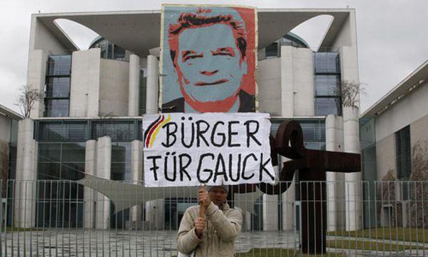 Gauck / Bild: (c) Reuters (FABRIZIO BENSCH)