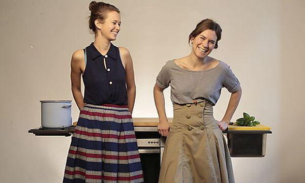 Die beiden Gründerinnen Philippa Erlacher(links) und Margherita Putze(rechts) /