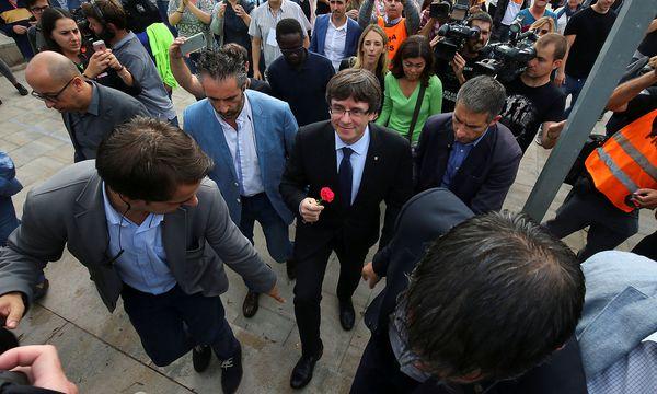 Der Chef der katalonischen Regionalregierung Puigdemont. / Bild: REUTERS