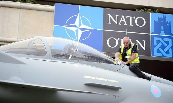 Archivbild vom letzten Nato-Gipfel in Wales. / Bild: (c) APA/EPA/LEON NEAL / POOL