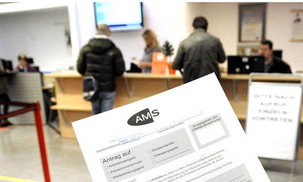 THEMENBILD: ARBEITSMARKTSERVICE AMS / ARBEITSLOSENZAHLEN/ ARBEITSLOSE / Bild: (c) APA/HERBERT PFARRHOFER
