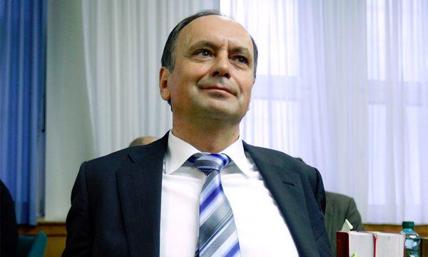 Ex-Telekom-Prokurist Josef Trimmel belastet Ex-Vorstände Fischer und Colombo. / Bild: (c) APA (Georg Hochmuth)