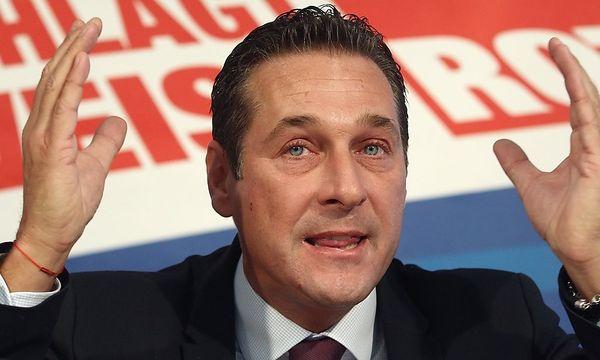 Strache / Bild: REUTERS