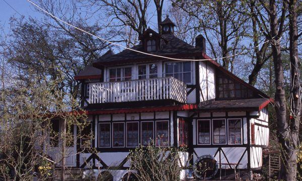 Christiania Autofrei und unorthodox wohnt der Bodensatz von Christiania.