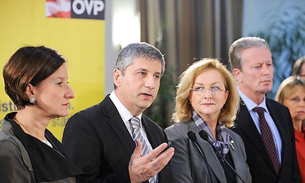 ÖVP Verhaltenskodex / Bild: (c) APA/ROBERT JAEGER (Robert Jaeger)