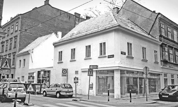 (c) Matthias Aschauer Keimzelle. Es begann in  einem weiß gekalkten Abbruchhaus im Wiener Brillantenviertel.