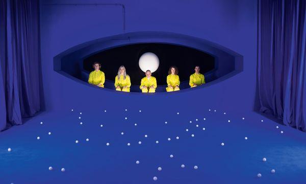 """(c) Stephanie Winter  Labor. Stephanie Winter & Salon Hybrid erforschten  in der Hegelgasse """"The White Planet Paradox""""."""