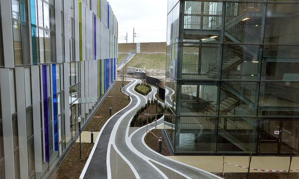 Das Krankenhaus Nord, aufgenommen Ende Dezember / Bild: APA/HERBERT PFARRHOFER
