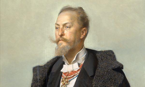 Wien Museum (Kainz Peter) Porträt von Wagner, 1896