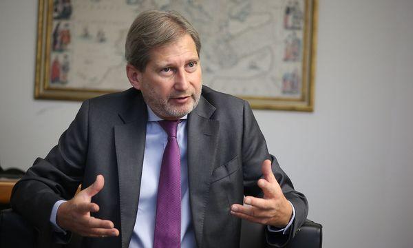 Erweiterungskommissar Johannes Hahn. / Bild: Stanislav Jenis