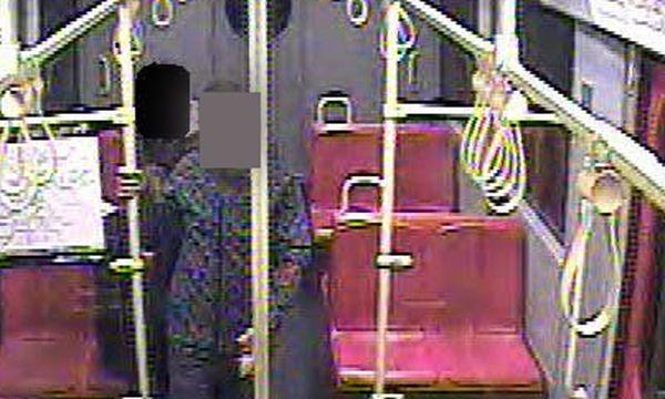 Der Verdächtige in der U-Bahn / Bild: (c) APA POLIZEI (POLIZEI)