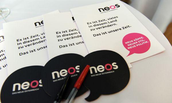 Neos Liberale Hindernissen / Bild: (c) Die Presse (Clemens Fabry)