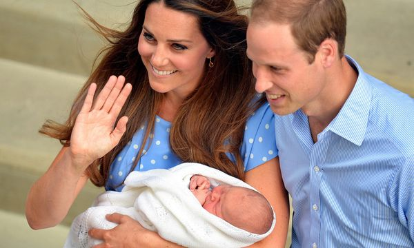 Herzogin Catherine, Prinz William und George Alexander Louis  / Bild: Reuters