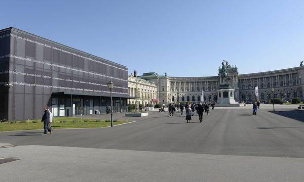 Archivbild: Parlament-Ausweichquartier auf dem Heldenplatz / Bild: (c) imago/CHROMORANGE (CHROMORANGE / Franz Perc)