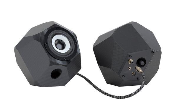 """(c) Beigestellt 3-D gedruckt. Musik ist auch Teil des """"design everyday"""": Lautsprecher vom Studio Most Likely."""