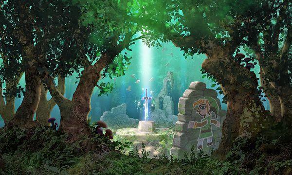 Fantastische Welt, in der man sich frei bewegen kann. / Bild: (c) Nintendo
