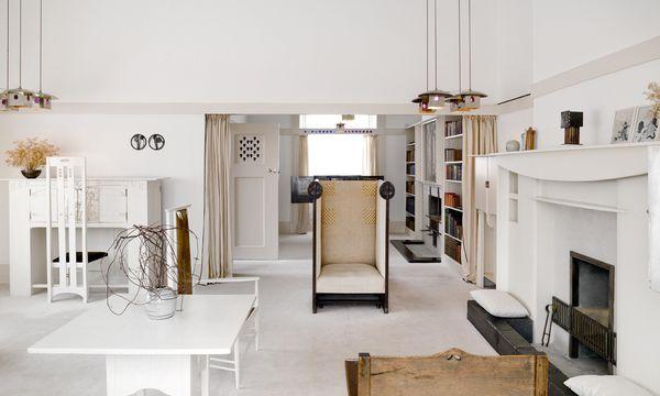 (c) Macintosh House Gesamtkunstwerke. Vom Raum bis zum Kleinmöbel: Gestaltungswille reicht bis ins Detail.