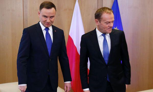 Themenbild: Polen/ Eu / Bild: (c) APA/AFP/POOL/FRANCOIS LENOIR