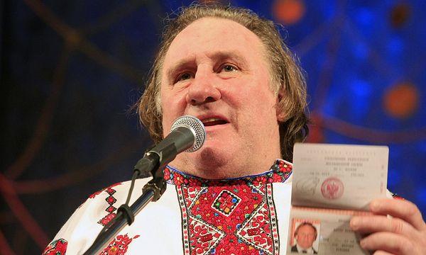 Bei den russischen Kommunisten hoch im Kurs: Gerard Depardieu. / Bild: (c) REUTERS (STRINGER RUSSIA)