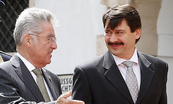 Heinz Fischer, Janos Ader / Bild: (c) AP (Ronald Zak)