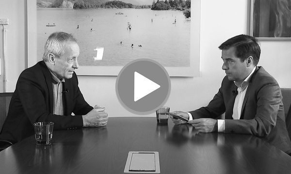 """Presse"" Chefredakteur im Video-Interview mit Peter Pilz / Bild: Shervin Sardari"
