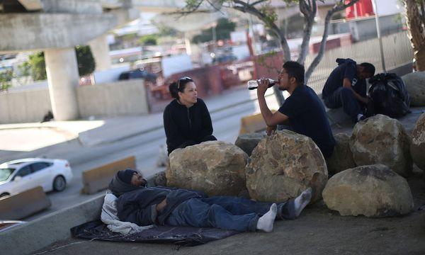 Aus den USA deportierte Mexikaner / Bild: REUTERS