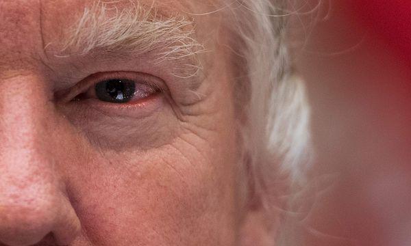 """""""Auch Vater und Großvater"""": Hat Trump seine Position zu Syrien geändert? / Bild: (c) APA/AFP/JIM WATSON (JIM WATSON)"""