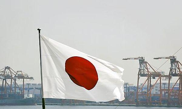 Japanische Flagge / Bild: APA (FRANCK ROBICHON)