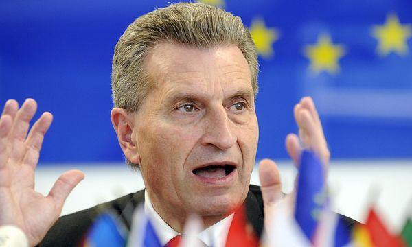 EU-Energiekommissar Günther Oettinger / Bild: (c) APA/HANS PUNZ (HANS PUNZ)