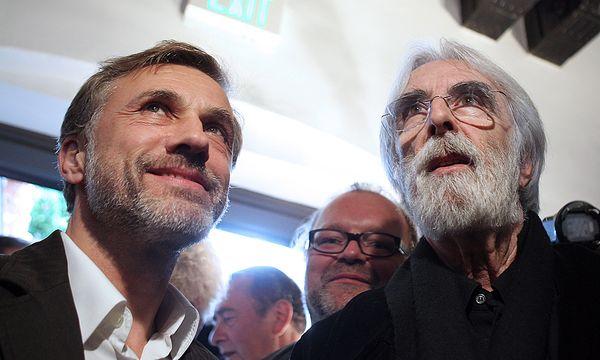 Christoph Waltz und Michael Haneke auf einem Archivbild von 2010 / Bild: (c) EPA (GEORG HOCHMUTH)