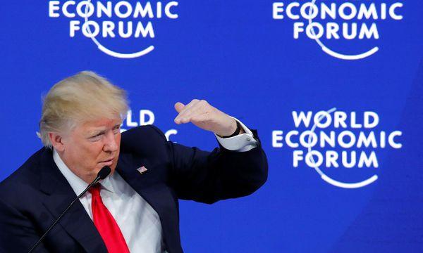 US-Präsident Donald Trump war letzte Woche beim Weltwirtschaftsforum in Davos zu Gast. / Bild: REUTERS