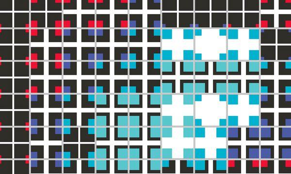 """(c) Rainer Kohlberger """"Field"""". Eine iPad-Applikation von Rainer Kohlberger erzeugt variable digitale Bilder."""