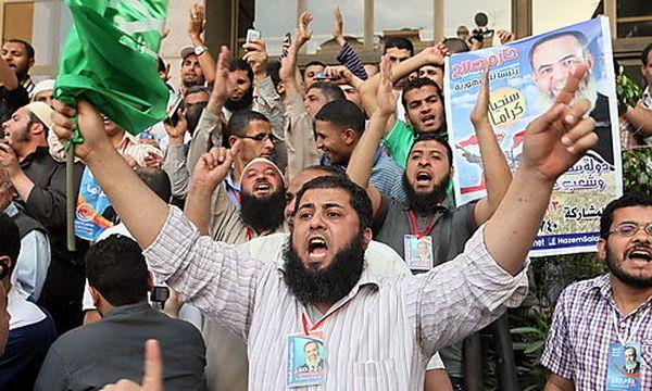 Unterstützer von Hazem Salah Abu Ismail / Bild: (c) EPA (Khaled Elfiqi)