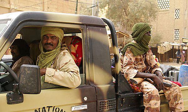 Tuareg-Kämpfer im Norden Malis / Bild: (c) AP
