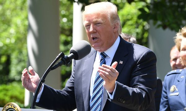 US-Präsident Donald Trump fühlt sich übergangen. / Bild: (c) imago/UPI Photo (PAT BENIC)