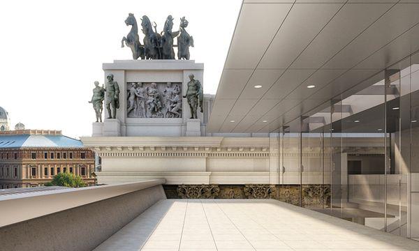Entwurf Sanierung / Bild: (c) Parlamentsdirektion/Jabornegg&Pálffy_AXIS/ZoomVP