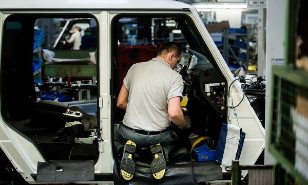 Viele Firmen - wie auf dem Bild Magna in der Steiermark - wollen für neue Mitarbeiter einen staatlichen Zuschuss. / Bild: (c) Bloomberg