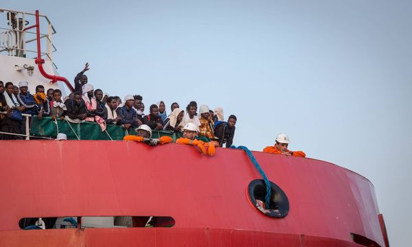 Migranten in Italien / Bild: imago/Pacific Press Agency
