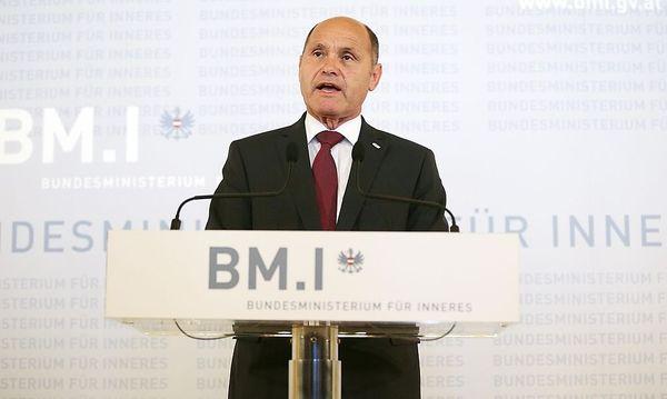 Innenminister Wolfgang Sobotka (ÖVP) / Bild: APA/GEORG HOCHMUTH