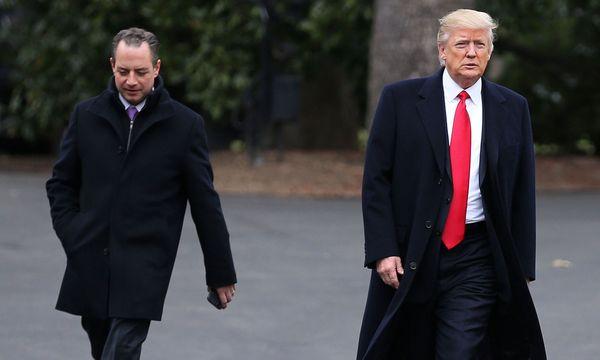 Reince Priebus und Donald Trump  / Bild: (c) Carlos Barria / Reuters
