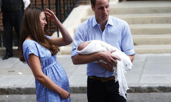 Punktlandung Kates Kleid legt / Bild: Reuters