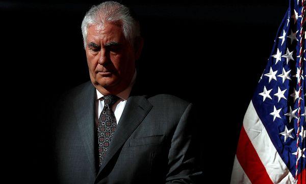 Rex Tillerson wird bald als US-Außenminister abgelöst. / Bild: REUTERS