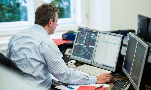 Ein Trader der Wiener Börse. / Bild: (c) Bloomberg