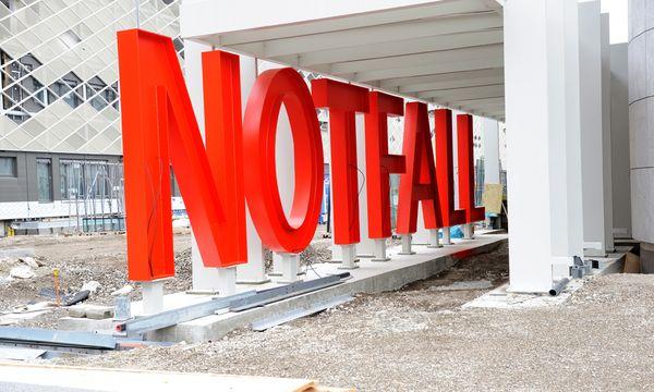 Die Baustelle des Milliardenprojektes Spital Nord steht im Blickpunkt der Öffentlichkeit. Im Hintergrund zeichnen sich aber ebenfalls Probleme ab. / Bild: (c) Die Presse (Clemens Fabry)