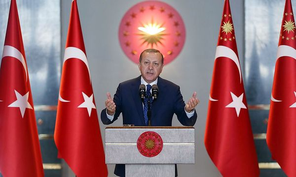 """""""Für Anführer, der an der Macht bleiben will."""" / Bild: APA/AFP/TURKEY'S PRESIDENTIAL PR"""
