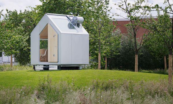 """Julien Lanoo """"Diogene"""" von Renzo Piano  versorgt sich selbst."""