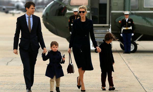 Kushner mit seiner Familie. / Bild: REUTERS