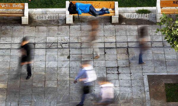 Obdachloser in Athen / Bild: REUTERS