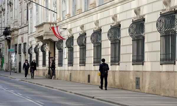 Archivbild: Das Palais Modena in der Wiener Herrengasse, Sitz des Innenministeriums / Bild: Clemens Fabry / Die Presse